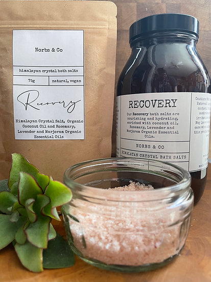 Recovery Himalayan Crystal Bath Salts 500g