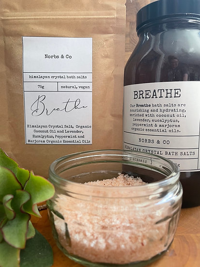 Breathe Himalayan Crystal Bath Salts 500g