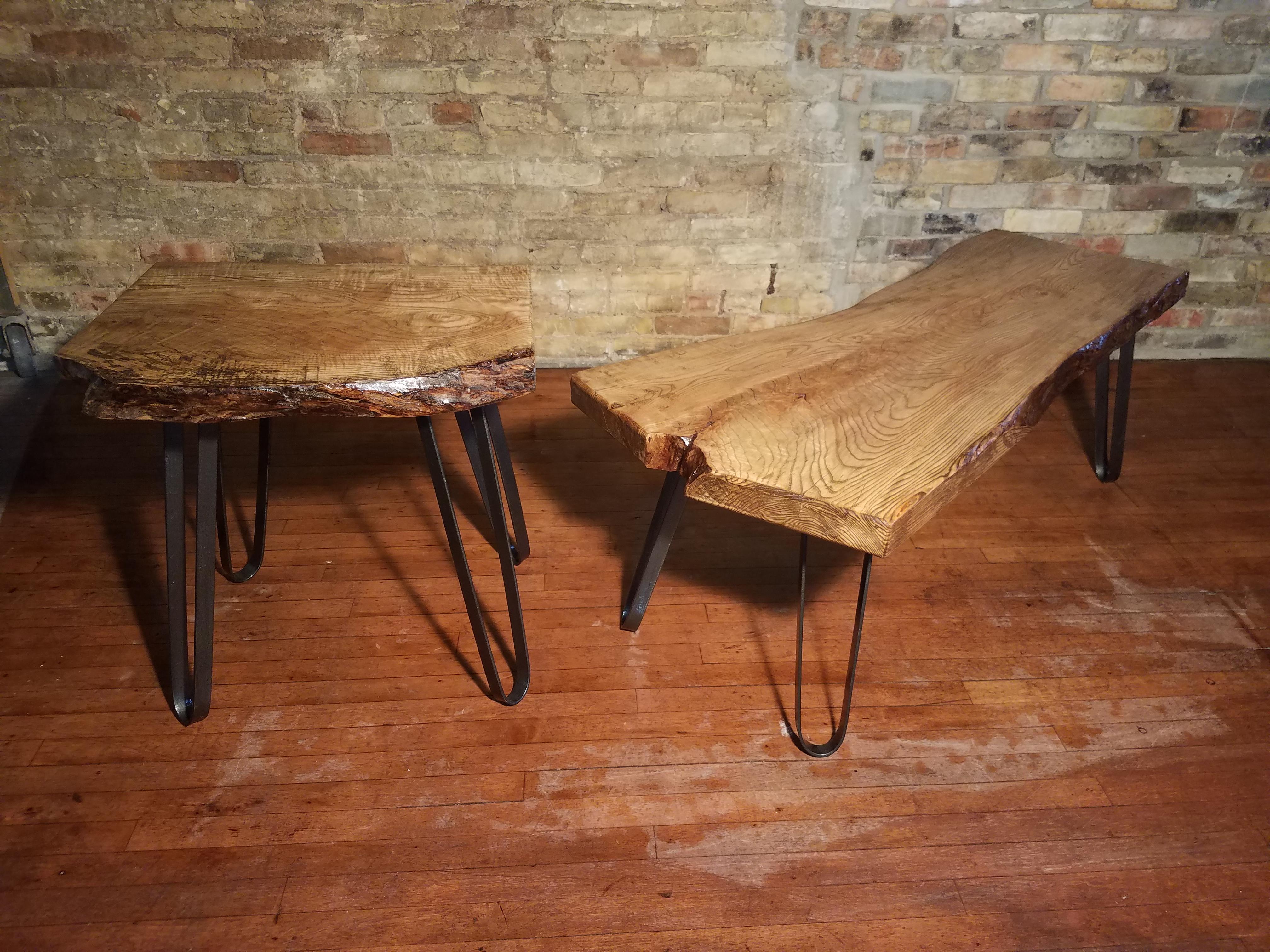 Ash Coffee End Table Set C5 350