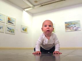 """""""Zwischenwelten"""" – meine Ausstellung auf La Palma"""
