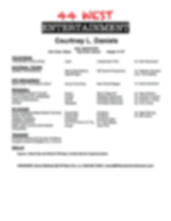 Courtney L. Daniels Theatrical Resume.do
