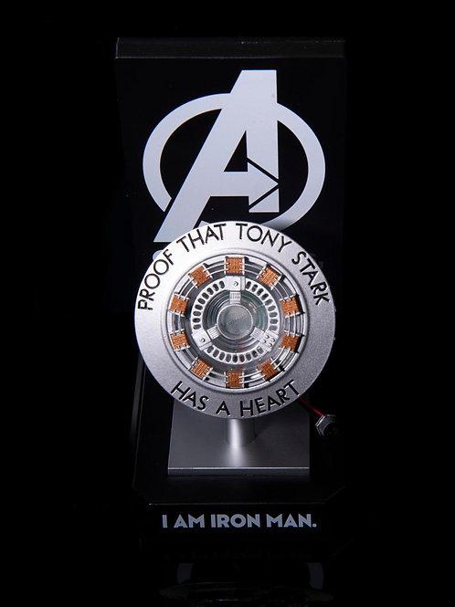 Marvel IronMan 反應爐  夜燈/無線充電座  「Proof that Tony Stark Has A Heart」