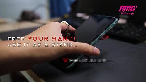 AMG-CT Ring Wireless手機支架 可配合無線充電 可磁吸汽車支架