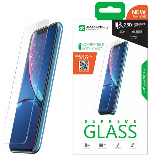 Amazing Thing iPhone XR EXTRA HARD Glass Screen Protector - Tempered Supreme Gla