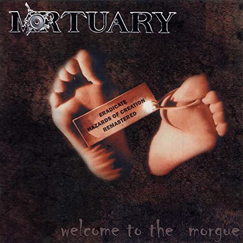 CD -WELCOME TO THE MORGUE - 2004