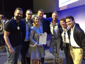 Golden award for Atlas Copco