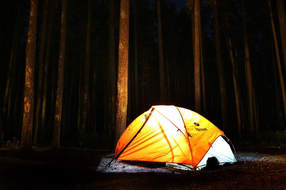 Camping in Saskatchewan