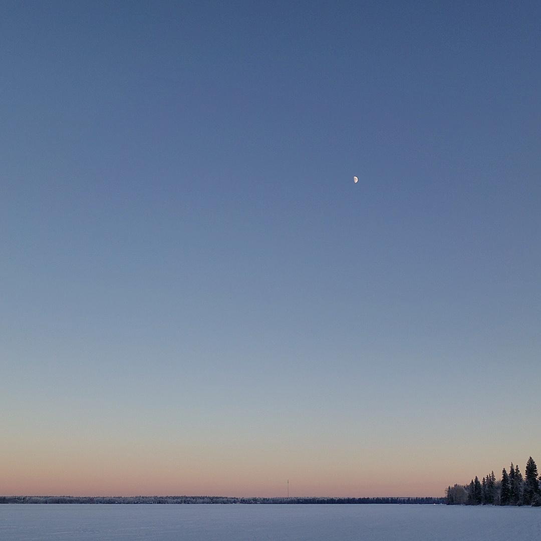 Sunset at Candle Lake, SK