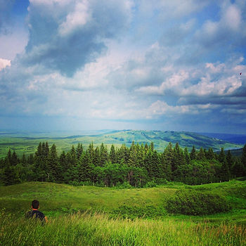 saskatchewan hiking cypress hills interprovincial park