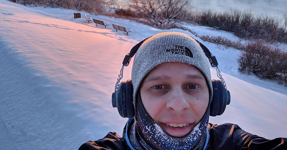 Winter Running in Saskatoon