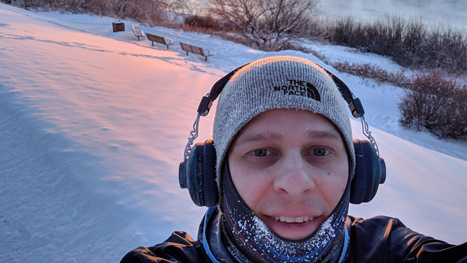 How to run from winter by running in winter