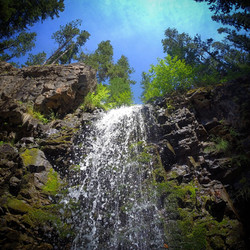 Upper Falls, Montana