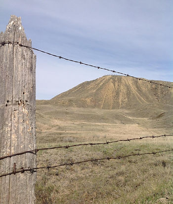 Checkerboard Hill, Leader Saskatchewan