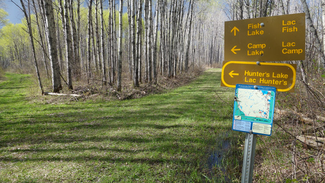 How to hike to Fish Lake in Prince Albert National Park