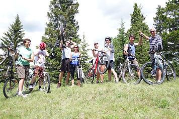 moutain biking in cypress hills inter-provincial park