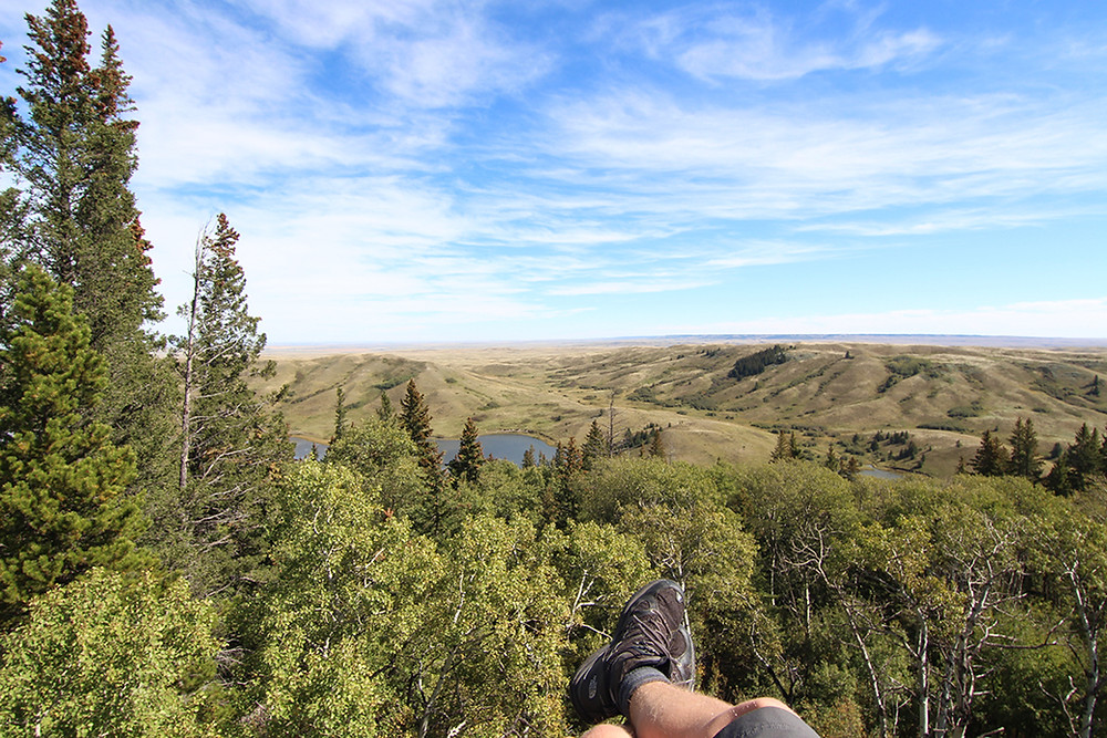 Boots at Cypress Hills