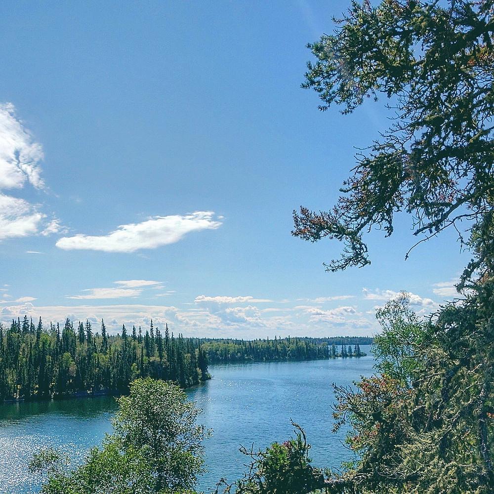Nut Point Trail Lac La Ronge Provincial Park