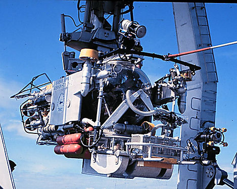 Recovery of the submersible Johnson Sea-Link I, following a dive.
