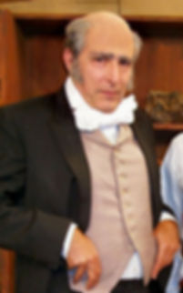 Charles G Messing as Charles Darwin (for Broward County Schools, 2005)