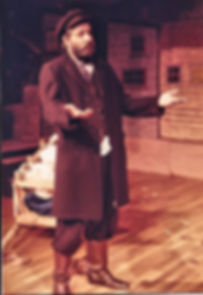 Charles G Messing as Tevye the milkman in Fiddler on the Roof, 1984