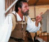 Charles G Messing as Michelangelo, Italian Renaissance Faire, 2003