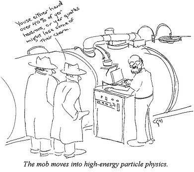 Mob moves into high-energy particle physics