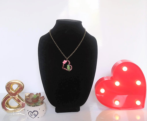 Sparticus Branch Heart Necklace