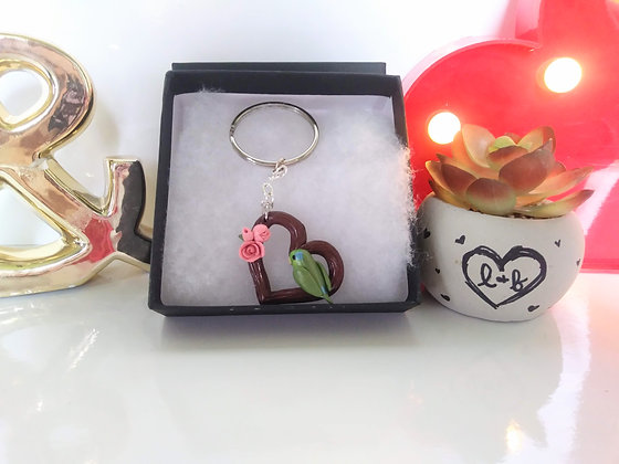 Sparticus Branch Heart Key-chain