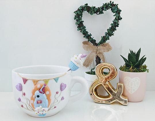 Hatchday Parrotlet Mug & Spoon
