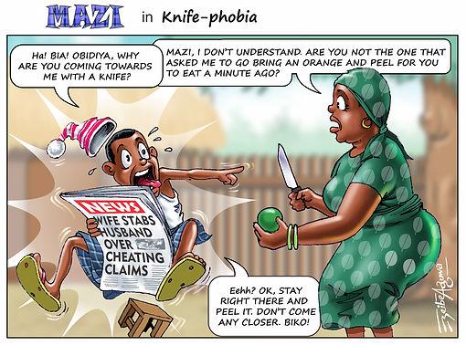 Knife-phobia
