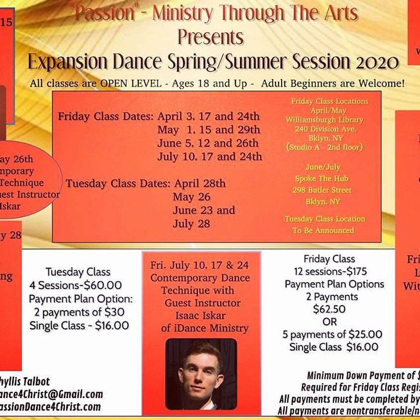 Expansion Spring/Summer Session 2020