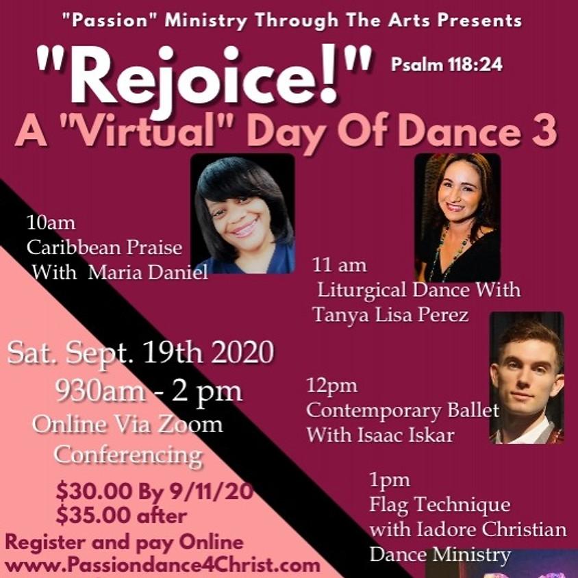 "Rejoice!  A ""Virtual"" Day of Dance 3"