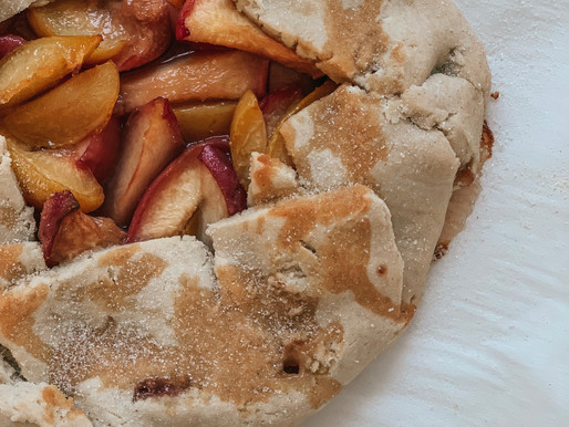 Gluten-Free Peach Galette
