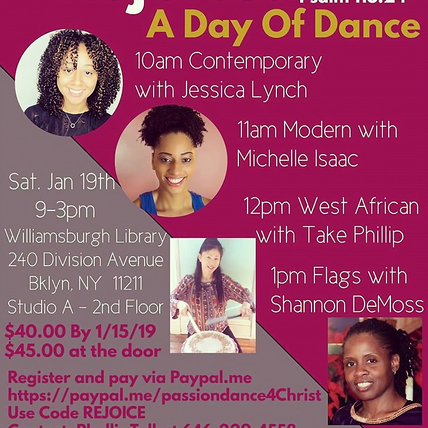 """""""Rejoice"""" A Day Of Dance"""