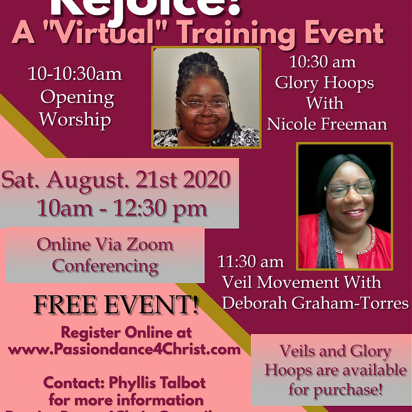 REJOICE! A Virtual Training Event