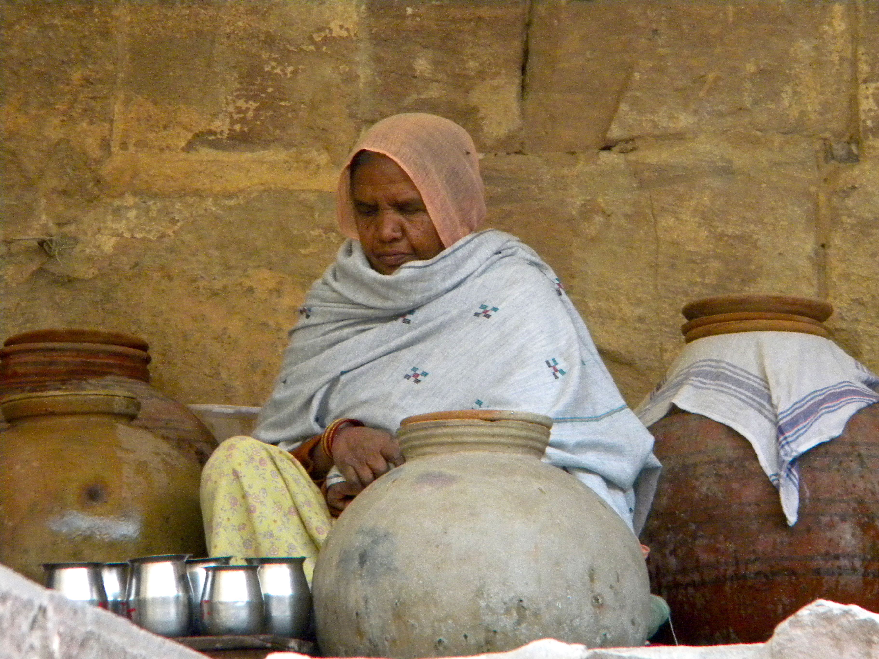 Grandmother, India 2010