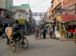 Old Delhi Street Life, India 2010