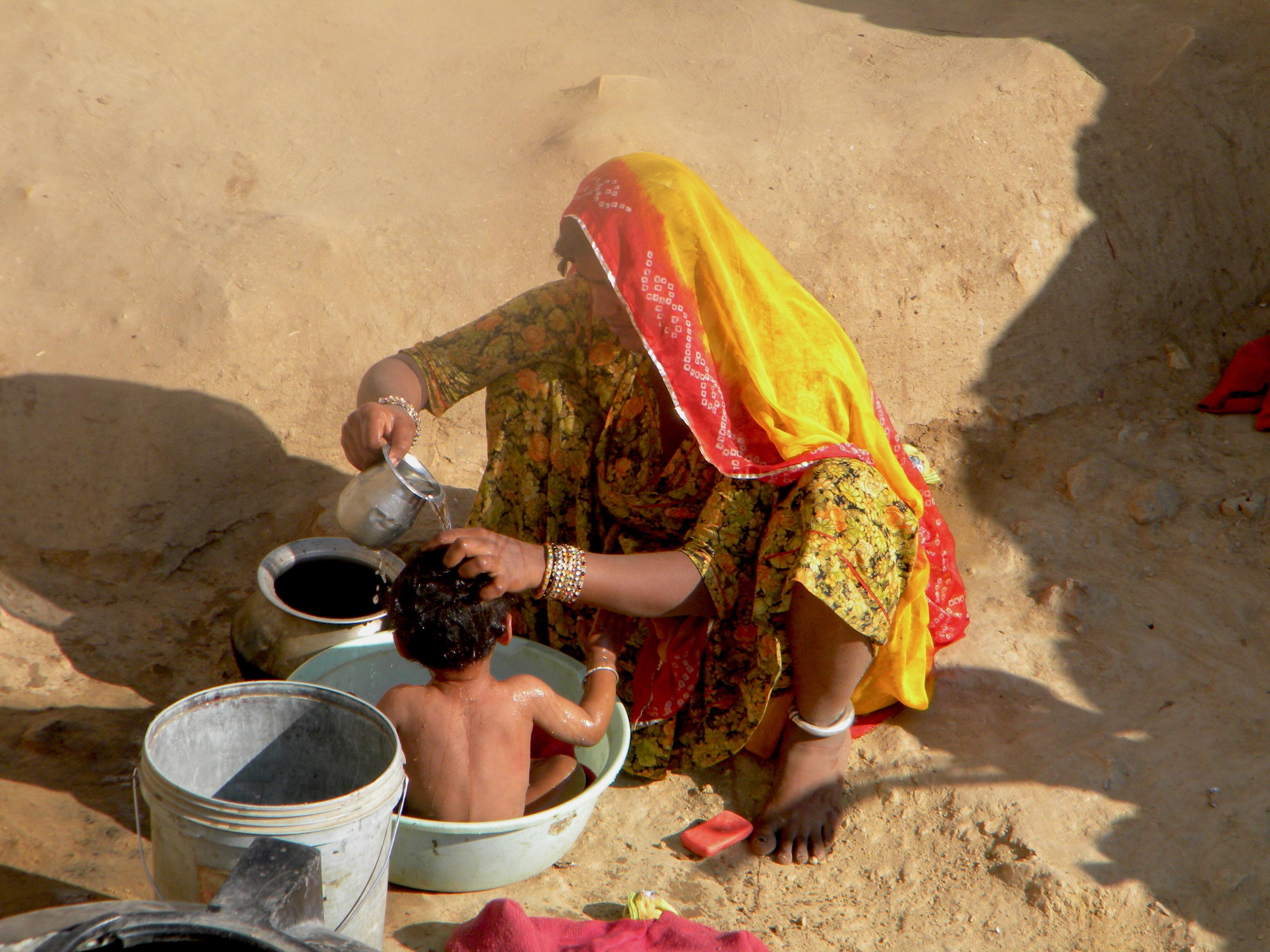 The Bath, India 2010