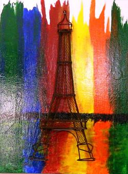 EIFFEL TOWER - REFLECTIONS