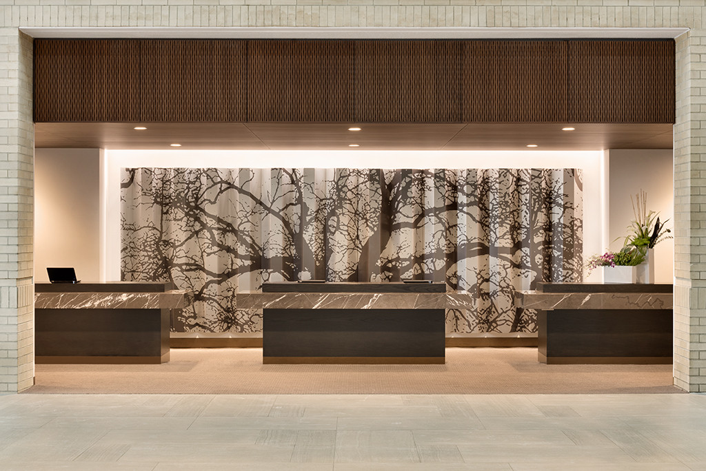Hyatt Regency Schaumburg, Hotel Interiors, Hospitality Design, Hotel Interiors, Lobby