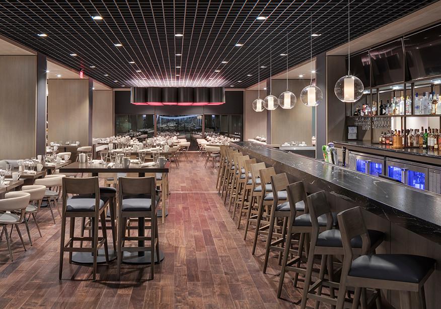 Hyatt Regency Schaumburg, Hotel Interiors, Hospitality Design, Restaurant