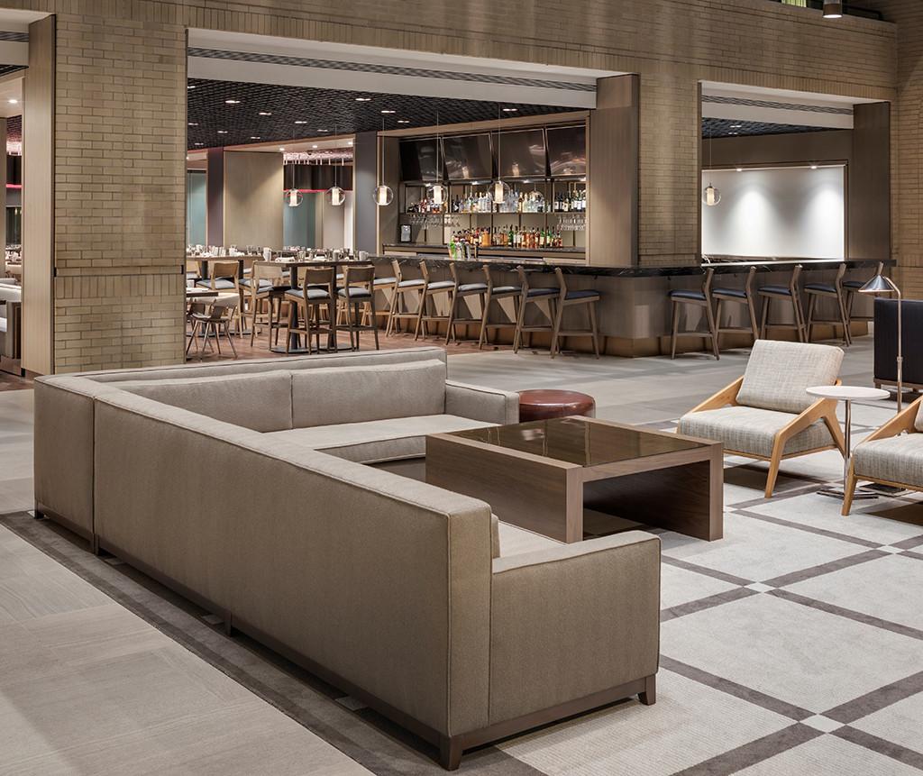 Hyatt Regency Schaumburg, Hospitality Design, Hotel Interiors, Lobby