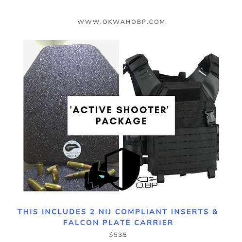 Alpha wolf 'Active Shooter' Package
