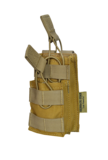 SHS - 1090 STACKER OPEN-TOP MAG POUCH SINGLE