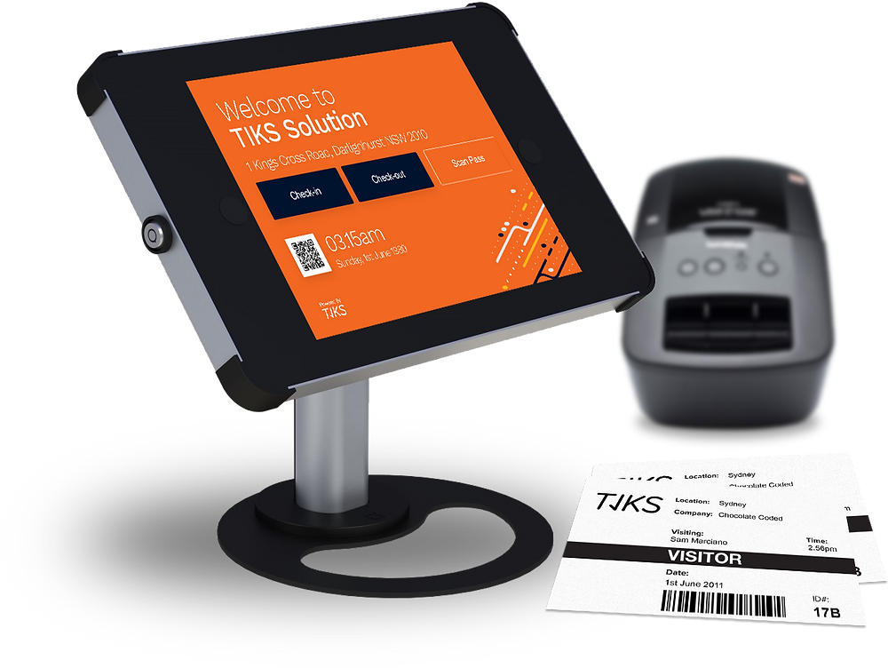 Visitor Management System All in one kiosk