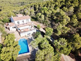 Rénovation d'une villa Begur Costa Brava Printemps 2018