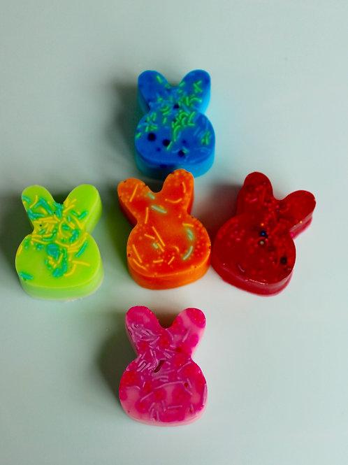 Bunny soaps- small