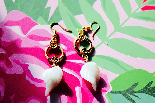 Rachael Earrings -Gold Circle