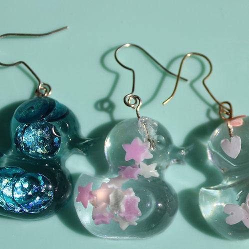 Ngaire earrings-Stars