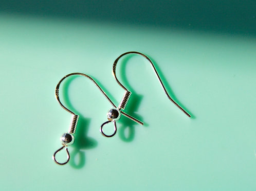 Upgrade to Stamped Sterling Silver Hooks -Pair